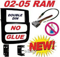 02 03 04 05 Dodge Ram Gps Navigation System Bluetooth DVD Video Car Stereo Radio