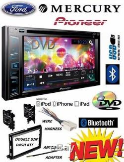 04-16 FORD F150 250 350 450 550 PIONEER BLUETOOTH CD DVD USB CAR Radio Stereo