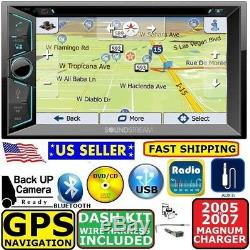05 06 07 DODGE MAGNUM CHARGER Gps Navigation SYSTEM BLUETOOTH CAR Radio Stereo