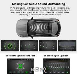 10.1 ANDROID 10 4CORE DOUBLE 2 DIN TABLET CAR STEREO RADIO Navigation CAMERA US