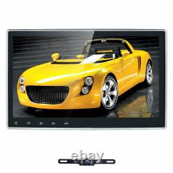 10.1 Android 10 4+64GB Double 2 DIN Car DVD Stereo Radio GPS Navigation +Camera