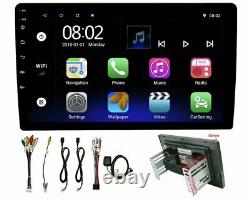 10.1 Android 10 Double Din 2DIN Car Stereo Radio GPS Navigation BT 5.0 Free Cam