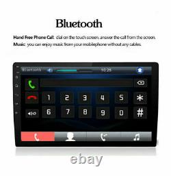 10.1 Android 8.1 Car Stereo Radio GPS Double 2Din Wifi OBD2 Mirror Link Player