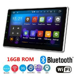 10.1 Android 9.1 Car Stereo GPS Navi MP5 Player Double 2Din Quad Core Radio CAM