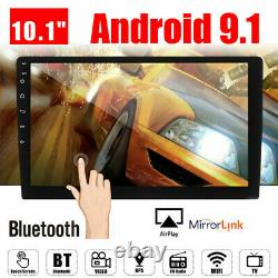 10.1 Android 9.1 Double 2Din Car Stereo Radio GPS Wifi Mp5 Mirror Link Player