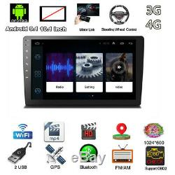 10.1 Android 9.1 Double 2Din Car Stereo Radio Player GPS Wifi OBD2 Mirror Link