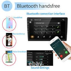 10.1 Car Radio Stereo Android8.1 GPS Navi MP5 Player WiFi Quad Core Double 2DIN