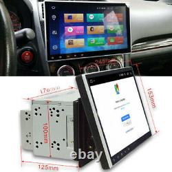 10.1 Car Stereo Radio GPS Android 9.1 Double Din Quad-core 2GB& 32GB Wifi 3G 4G