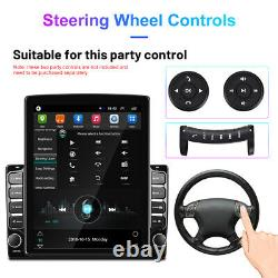 10.1 Double 2 Din Car Stereo Radio Android 9.0 GPS Wifi Vertical Touch Screen