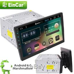 10.1 HD Android 6.0 Double 2 Din Car GPS Stereo Radio Player Wifi 3G/4G No DVD