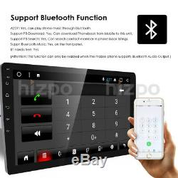10.1 HD Android 8.1 Double 2 Din Car GPS Stereo Radio Player Wifi 3G/4G No DVD
