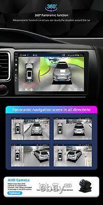 10.1 IPS Android 10.0 2 DIN Car Radio Stereo GPS Head unit OBD DAB AUX 4GB+64GB