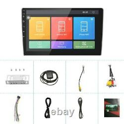 10.1 Quad Core Android 9.1 Car Stereo GPS Navi MP5 Player FM Radio Double 2 Din