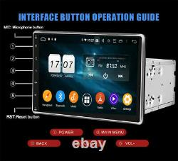 10.1 Smart Android 9.1 4G WiFi Double 2DIN Car Radio Stereo GPS Bluetooth 2+32G