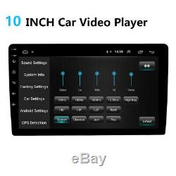 10 inch Android 9.1 WiFi Double 2DIN Car Radio Stereo DVD Player GPS Navigation