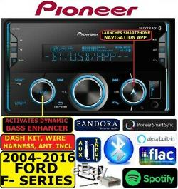 2004-2016 Ford F150/250/350/450/550 Bluetooth Usb Aux Car Radio Stereo Pkg