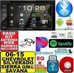2006-2015 CHEVROLET CHEVY GMC SILVERADO SIERRA SAVANA Cd Dvd Bluetooth Stereo