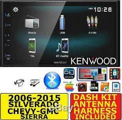 2006-2015 CHEVROLET GMC SILVERADO SIERRA SAVANA KENWOOD USB BLUET0OTH CAR Stereo