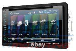 2009-2012 Dodge Ram Double Din Dvd/bluetooth Dash Kit Car Stereo Radio Pkg