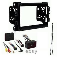 2013 2020 Ram Double Din Car Stereo Installation Dash Kit + Harness + Antenna