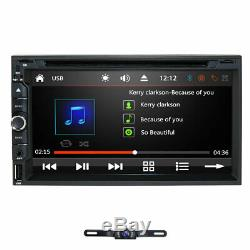 2020 Sony Lens Double 2Din 7Car Stereo Radio DVD Player In Dash BT MP3+CAMERA