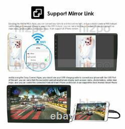 64GB 10.1 Android 10 Car Stereo GPS Navi Player Double Din WiFi Quad Core Radio