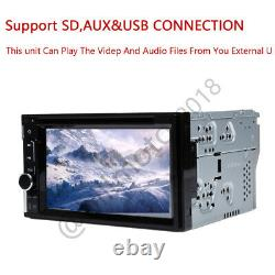 6.2 2Din Car Stereo Radio DVD Player Touch Screen Bluetooth Mirror Link For Map
