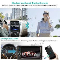 6.2 Double 2 Din Car Stereo HD CD DVD Player Radio Bluetooth with Backup Camera