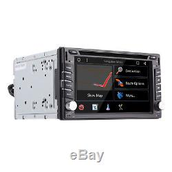6.2 Smart Android7.1 4G WiFi Double 2DIN Car Radio Stereo DVD Player GPS+Camera