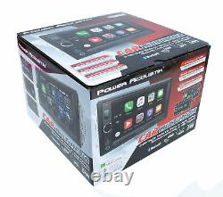 6.5 Bluetooth Radio AM/FM MP3 USB Apple Car Play Double Din LCD Touch Screen