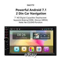 7Double Din Car Dash Stereo Radio Android Universal MP3 Eonon AUXIN USB GPS Nav