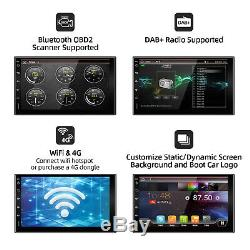 7'' Android 10.0 Double 2 DIN GPS Car Stereo Head Unit FM/AM Player WiFi DAB+32G