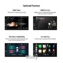 7 Android 10.0 Quad Core Double DIN GPS Car Stereo Radio 2GB+32GB Car Auto Play
