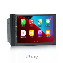 7 Android 10 1+16 Double 2Din Car Stereo Radio GPS Wifi OBD2 Mirror Link Player