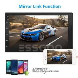 7 Android 10 Car Stereo GPS Navigation Radio Player Double Din WIFI USB Camera
