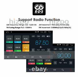 7'' Android 10 WiFi Double 2Din Car Radio Stereo GPS Navi CD DVD Player SWC DSP