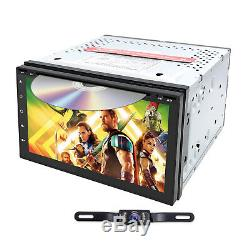 7 Android 8.0 Oreo Octa Core 1024600 Double 2 Din Tablet Car Stereo Radio+cam