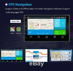 7 Android Double 2DIN WiFi HD Car Radio Stereo Audio Player GPS Navi BT 32GROM
