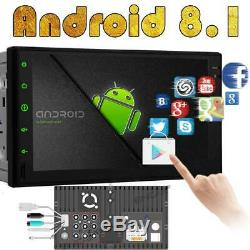 7 Android Double 2Din Car Stereo Radio GPS Wifi OBD2 Mirror Link NO dvd Player
