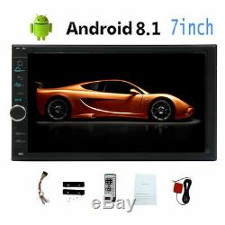 7 inch Android 4G WiFi Double 2DIN Car Radio Stereo DVD Player GPS Navigation
