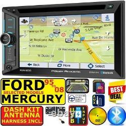 95-08 Ford Mercury Gps Navigation Bluetooth Cd/dvd Usb Aux Car Radio Stereo Pkg