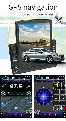 9.7'' Double 2 DIN Android 9.1 Car Stereo WIFI Radio GPS Navigation Head Unit