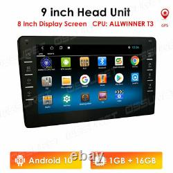 9 Android9.1 Car Stereo GPS Navi MP5 Player Double 2Din WiFi BT Quad Core Radio