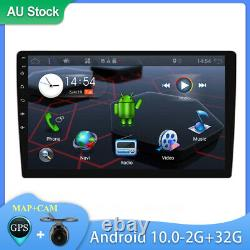 9'' Android 10.0 Double 2 DIN Car Stereo Player GPS Sat Nav Head Unit FM/AM WiFi
