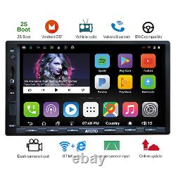 ATOTO A6 Double Din Android Car Navigation Stereo with Dual Bluetooth Standard