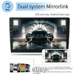 Android 10.0 10.1 Double 2 DIN Car Stereo Radio GPS WIFI BT 2+ 32GB MP5 Player