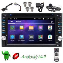 Android 10.0 2GB Double 2Din 6.2inch InDash Car DVD Player Radio Stereo GPS Navi