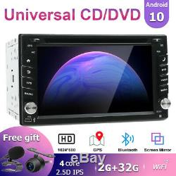 Android 10.0 Double 2Din Car DVD Player Radio Stereo Head Unit GPS NAV DAB+ WIFI