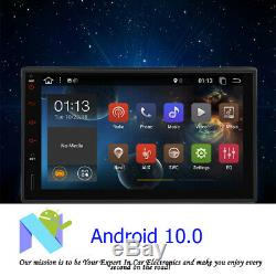 Android 10.1 Double 2 Din 7 GPS Navigation In-Dash Stereo Radio Car Unit BT USB