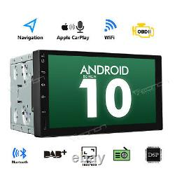 Android 10 7inch Car Stereo GPS Navigation Radio Player Double Din WIFI CarPlay